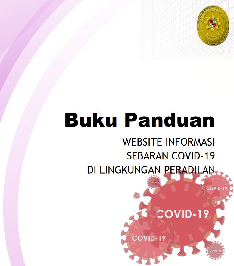 Buku Panduan Website Informasi Sebaran Covid-19 di Lingkungan Peradilan