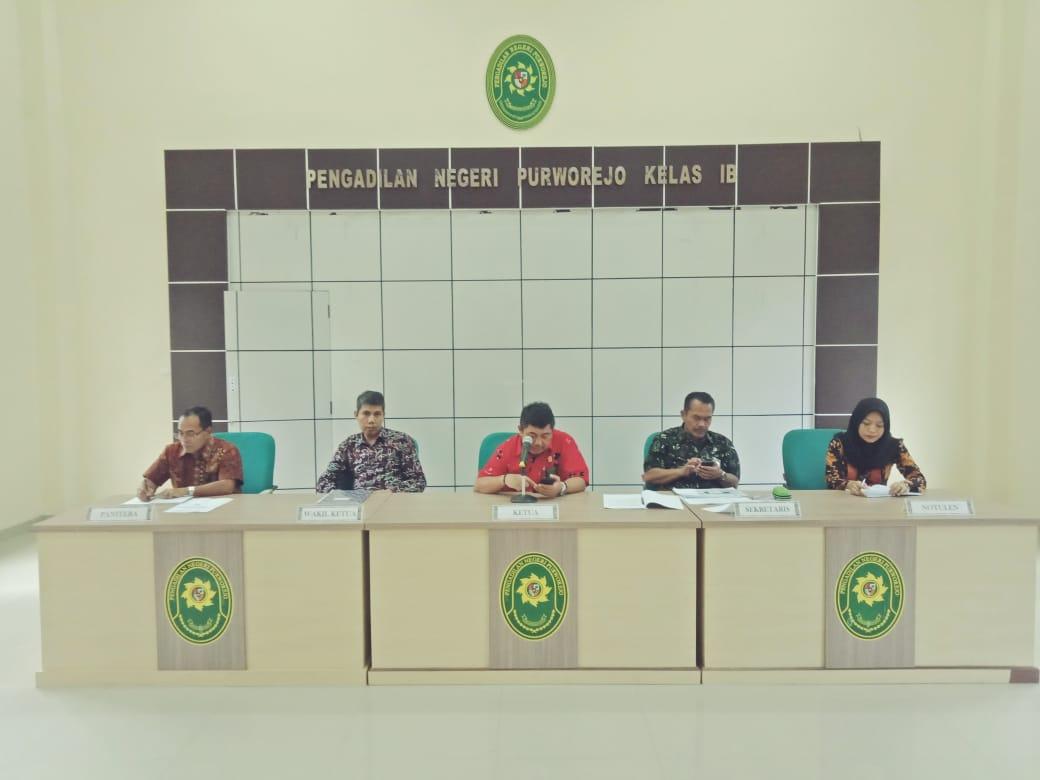 Rapat Pembinaan Bulan Mei Pengadilan Negeri Purworejo