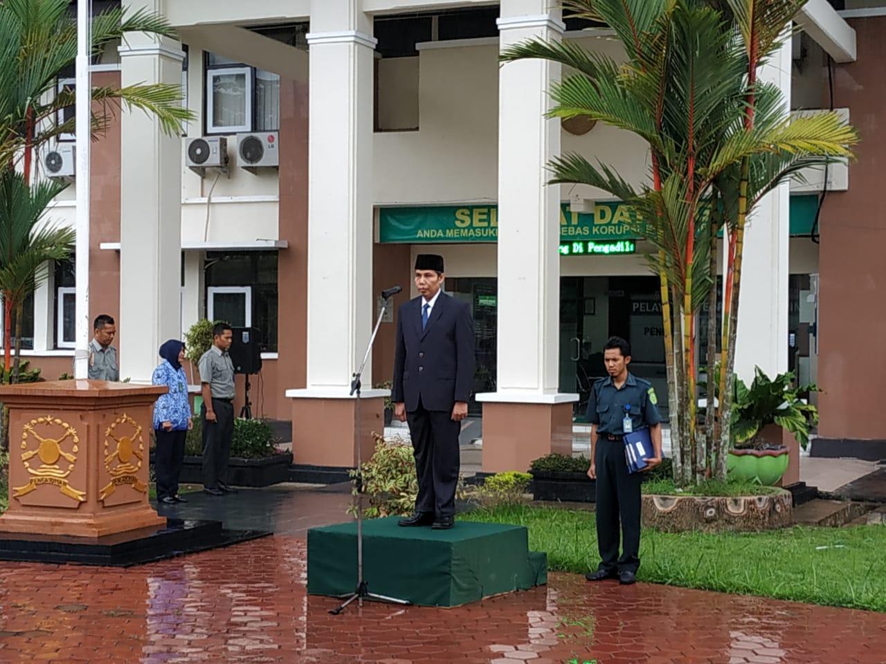 Upacara Peringatan HUT KORPRI Ke-47 Tahun 2018 Pada Pengadilan Negeri Purworejo