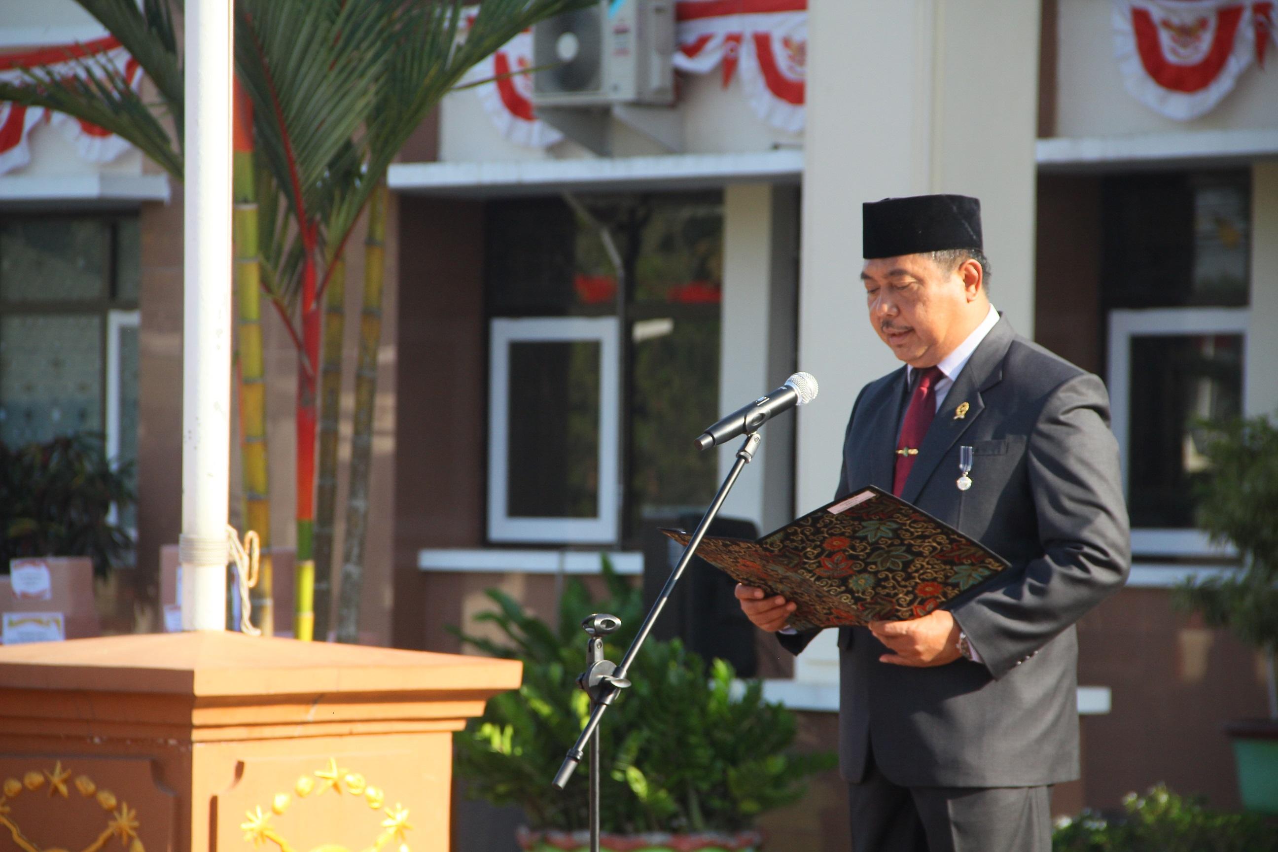 Upacara Memperingati HUT Mahkamah Agung Republik Indonesia ke-74