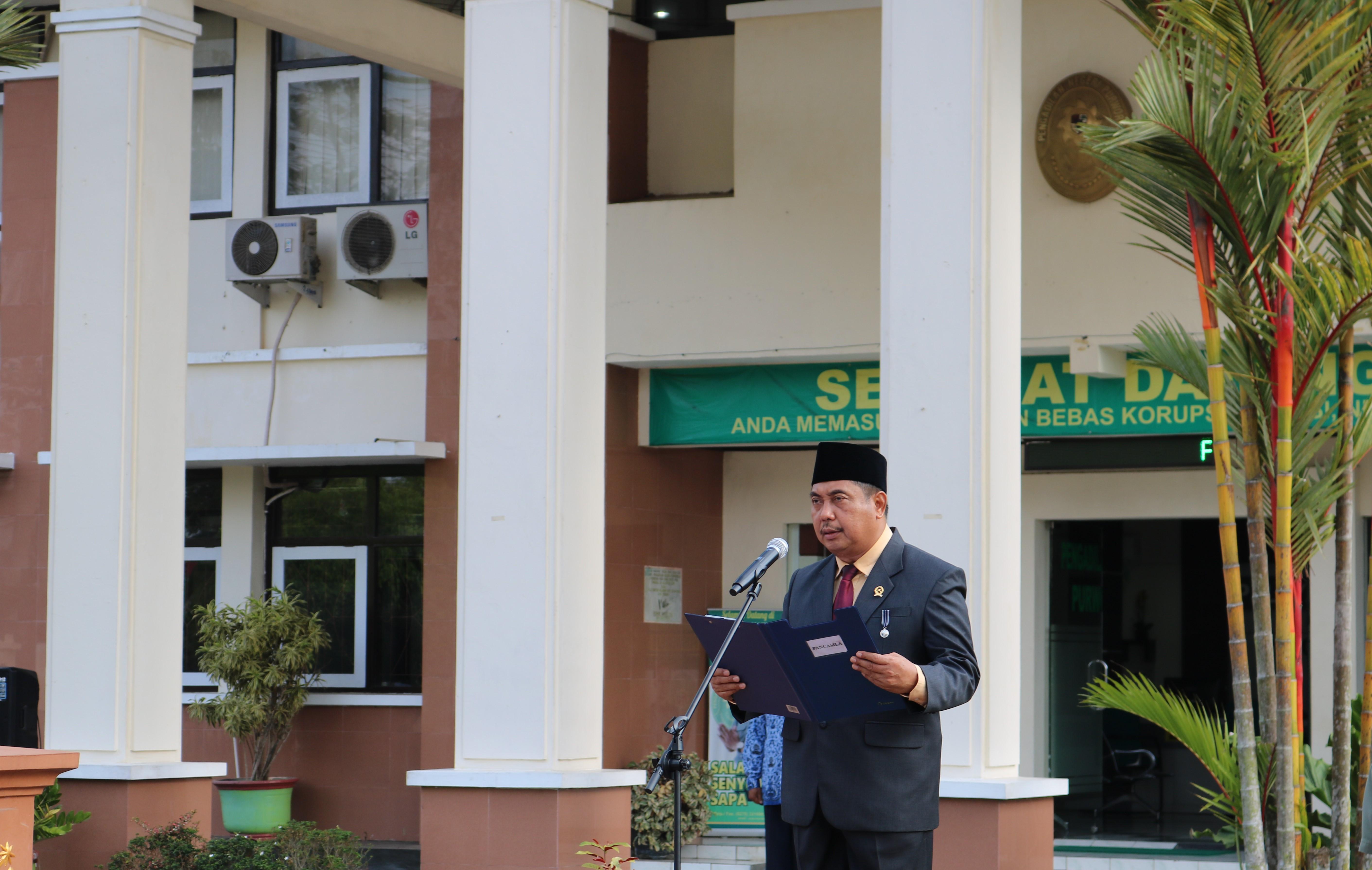 Ketua PN Purworejo Menjadi Pembina Upacara Hari Kesaktian Pancasila