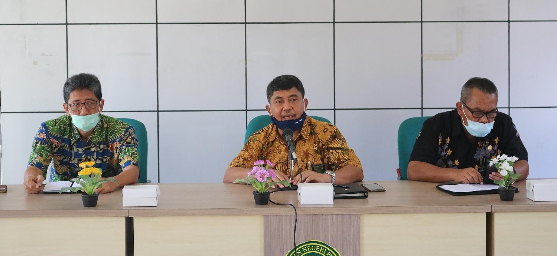 Pengadilan Negeri Purworejo mengadakan rapat evaluasi pada bulan nopember 2020