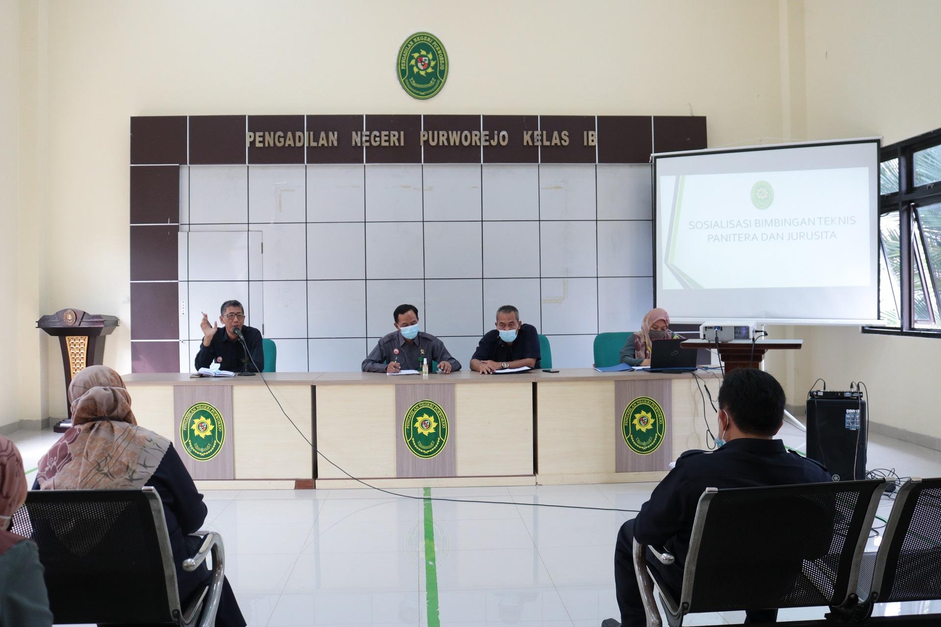 Sosialisasi Bimbingan Teknis Panitera & Jurusita Pengadilan Negeri Purworejo