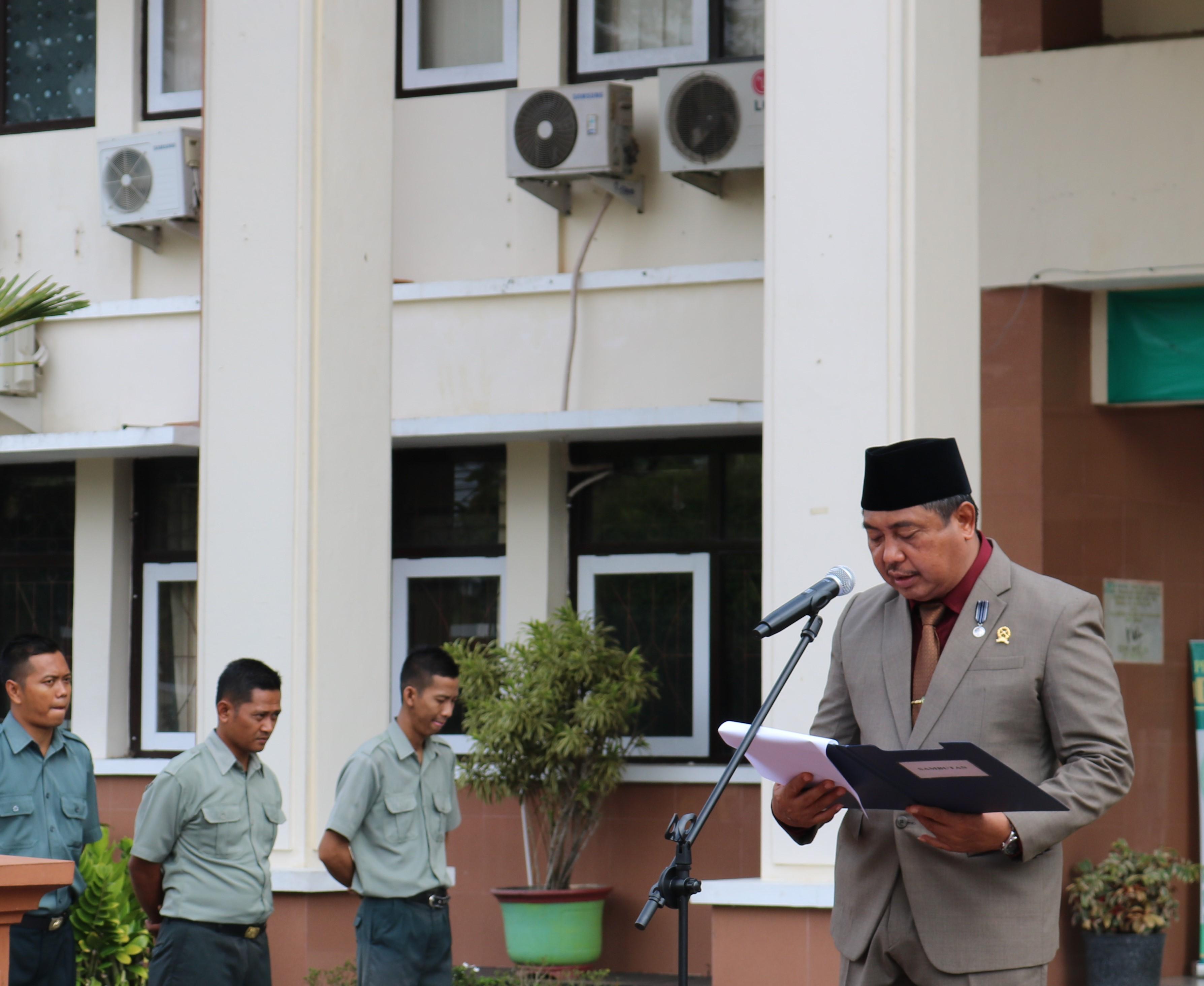 Upacara Hari Pahlawan di Pengadilan Negeri Purworejo Berlangsung Khidmat